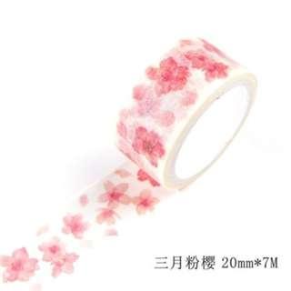 Washi Tape (Sakura) (Ref No.: 245)