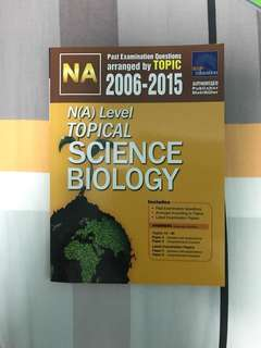 TYS Combined Science (Biology) and HCL