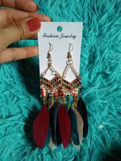 Bohemian Feather Earring(mixed color)