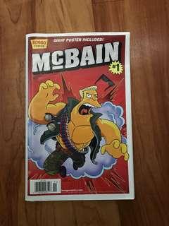 Mcbain comic poster