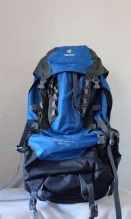 Deuter Aircontact Pro 60+15 Ocean Anthracite (Grey-Blue)