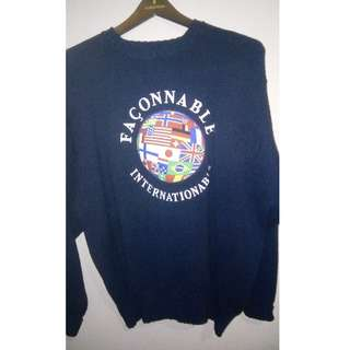 FACONNABLE SWEATER LOGO