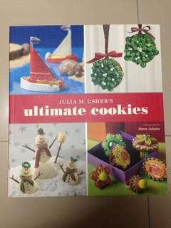 Julia M. Usher's Ultimate Cookies Cookbook Baking Design Book