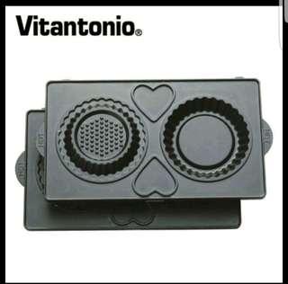全新Vitantonio 菊花派 塔派 烤盤 VWH-110 VSW-450PW VWH-20