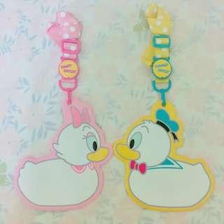 唐老鴨 黛絲 證件套 Donald Duck& Daisy Duck Pass Holder