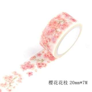 Washi Tape (Sakura) (Ref No.: 246)