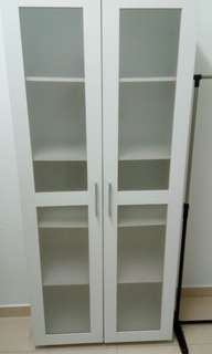 File cabinet with shelves