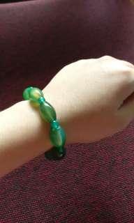 Myanmar jade bracelet