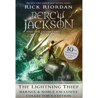 The Lightning Thief: 10th Anniversary Edition (B&N Exclusive Collector's Edition) by Rick Riordan