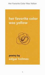 Her Favorite Color Was Yellow (ebook - epub)