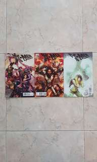 """X-Men Legacy Vol 1 (Marvel Comics 3 Issues; #242 to 244, complete story arc on """"Fables of the Reconstruction"""")"""
