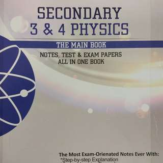 Smashing Exams Sec 3&4 Pure Physics anf Chemistry The Main Book
