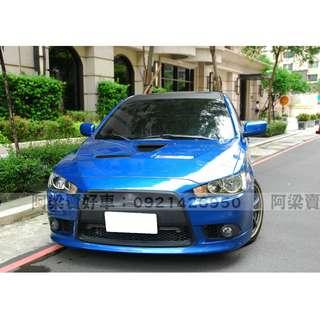 2012年-三菱-LANCER io (年輕熱愛.車況優) 買車不是夢想.輕鬆低月付.歡迎加LINE.電(店)洽