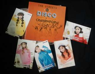 [Postage Free] Crayonpop - the streets go disco ( the 2nd mini album )