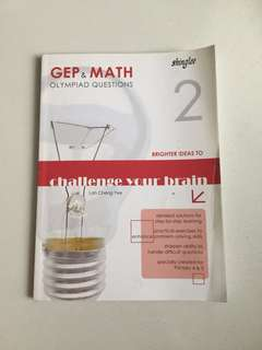 GEP & math olympiad book