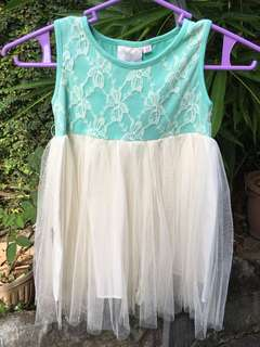 Soft tulle dress