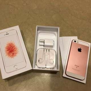 iPhone SE 64g玫瑰金