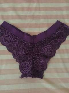 Lace Panty purple