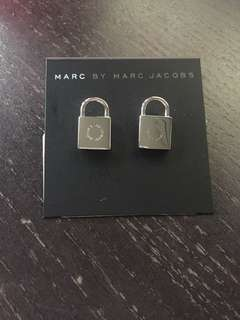 Marc by marc jacob padlock earrings