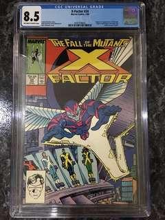 X-Factor #24 CGC 8.5