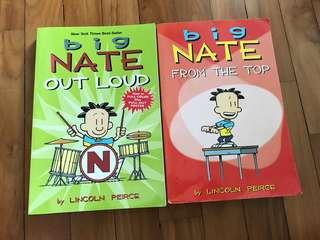 Set of 2 Big Nate books