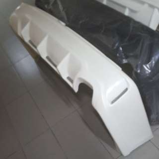 Toyota Hiace MTS advance rear bumper. For euro 3 to 6. 1 pc ready stock.