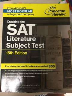 Literature subject test