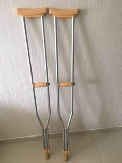 Crutches for 1.78m and above