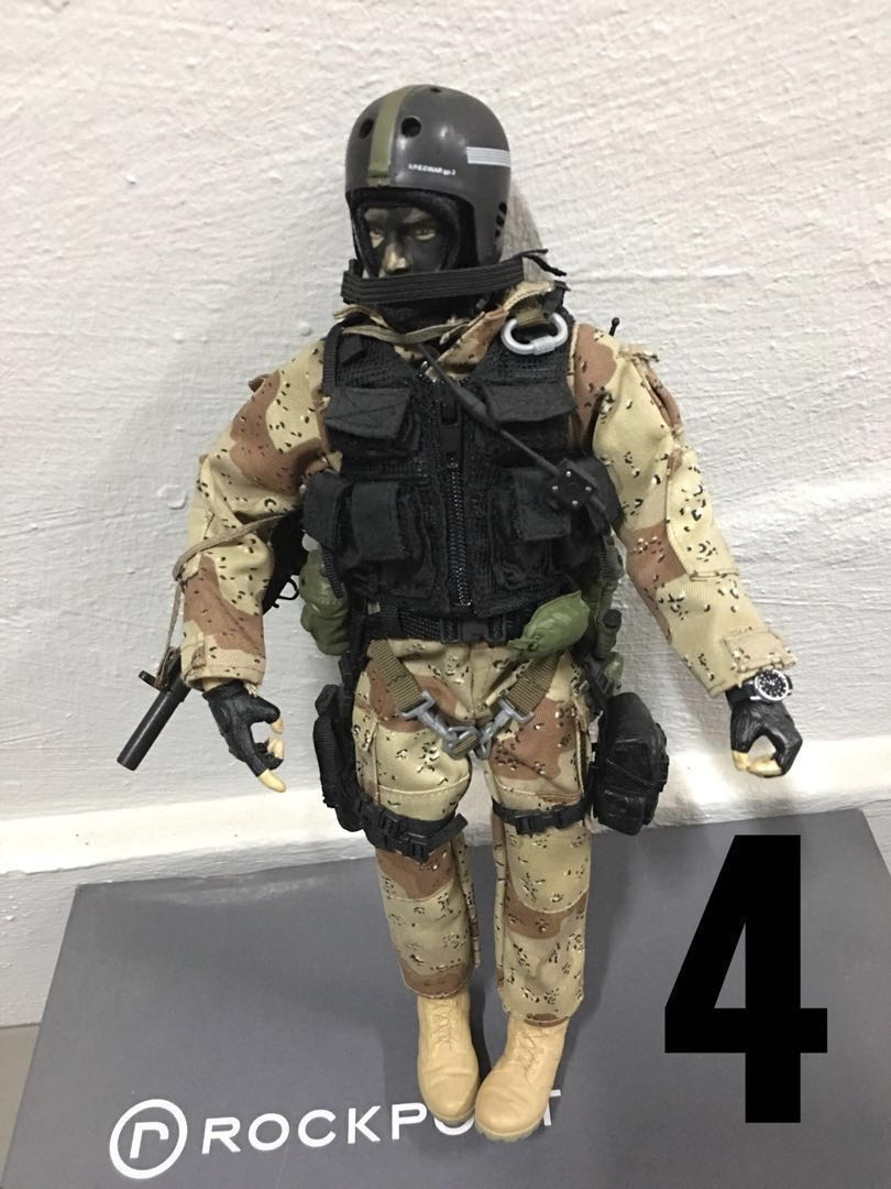 1/6 scale soldiers