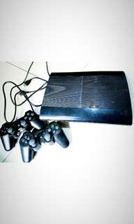 PS 3 Slim 500 GB, harha bisa nego tipis,lengkap bersama dus