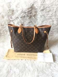 Louis Vuitton Neverfull MM Monogram 2011