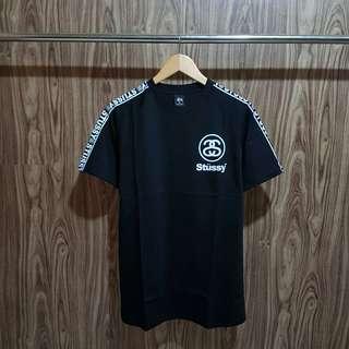 Kaos Stussy premium hitam