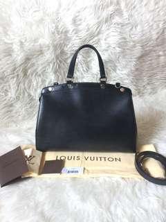 Louis Vuitton Brea MM Black Epi 2012
