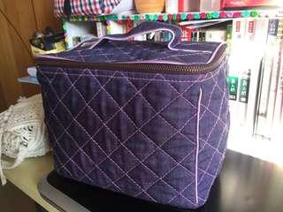 二手 NARAYA 紫色化妝袋