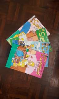 Simpsons Comics Books