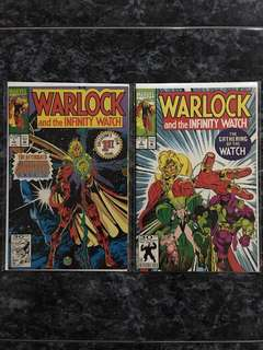 Warlock and the INFINITY WATCH #1 & 2
