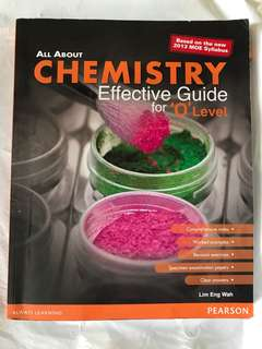 Chemistry assessment book with notes