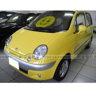 2003年-台塑二號 Matiz (超省油.超省稅.0.8CC) 買車不是夢想.輕鬆低月付.歡迎加LINE.電(店)洽