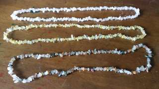 Gemstone Necklace from Myanmar - S$20 each
