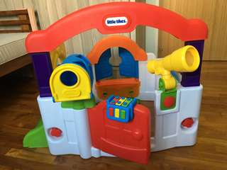 (Final Reduction) Little Tikes Activity Garden Baby Playset (Almost New) Free IKEA Rocking Moose!