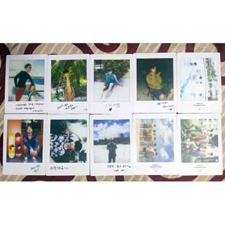 WTS - iKon OFFICIAL Kony's Summertime Photocard/Photo collection