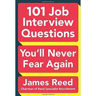 101 Job Interview Questions You'll Never Fear Again (ebook)