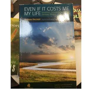C240 BOOK - EVEN IF IT COSTS ME MY LIFE