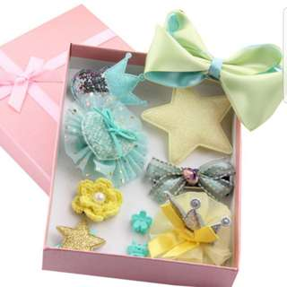 10pcs/set Baby Cute Princess Style Gift Flower Headband