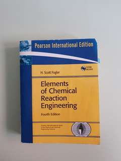 Elements of Chemical Reaction Engineering (FOURTH EDITION)