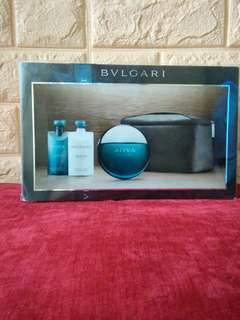 Repriced bulgari perfume set 💯 auth from usa