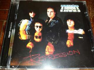 Music CD (sealed): Trust –Repression - French Hard Rock Legends Reissued