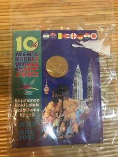 10th MEN's HOCKEY WORLD CUP 2002 - COIN