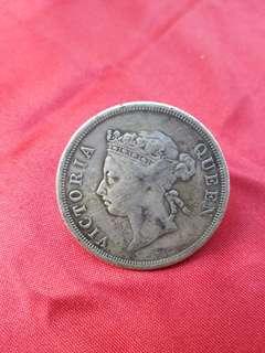 1900 straits settlements coin