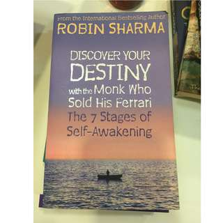 C245 BOOK - DISCOVER YOUR DESTINEY WITH THE MONK WHO SOLD HIS FERRARI